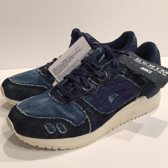 free shipping 69f71 51c50 Asics Gel Lyte III Size 8.5 Indigo Blue New Mens